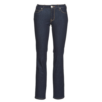 Textiel Dames Straight jeans Lee MARION STRAIGHT Blauw