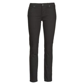 Textiel Dames Skinny jeans Lee ELLY Zwart