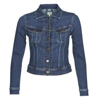 Textiel Dames Spijker jassen Lee SLIM RIDER JACKET Hunt