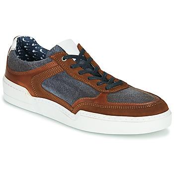 Schoenen Heren Lage sneakers Casual Attitude MELISSI Cognac