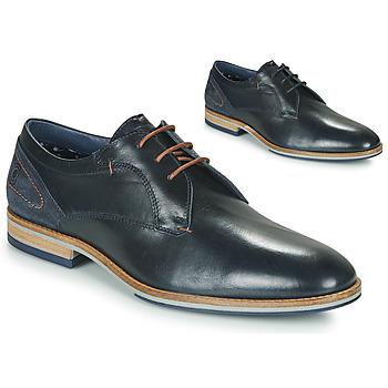 Schoenen Heren Derby Casual Attitude MORANI Zwart