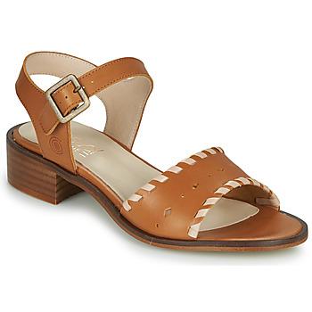 Schoenen Dames Sandalen / Open schoenen Casual Attitude MELIVELLANA Bruin