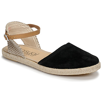 Schoenen Dames Sandalen / Open schoenen Casual Attitude MADELEINE Zwart