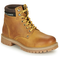 Schoenen Kinderen Laarzen Jack & Jones JFW STATTON LEATHER Bruin