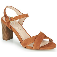 Schoenen Dames Sandalen / Open schoenen Betty London MOUDINE Cognac