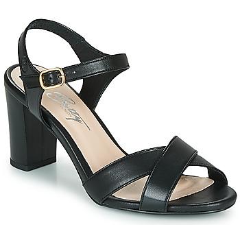 Schoenen Dames Sandalen / Open schoenen Betty London MOUDINE Zwart