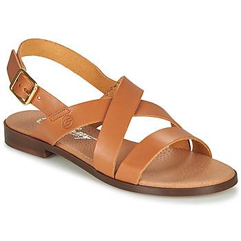 Schoenen Dames Sandalen / Open schoenen Betty London MADI Cognac