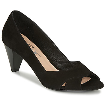 Schoenen Dames pumps Betty London MIRETTE Zwart / Suede
