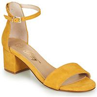 Schoenen Dames Sandalen / Open schoenen Betty London INNAMATA Geel