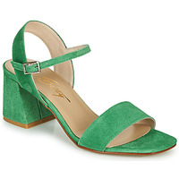 Schoenen Dames Sandalen / Open schoenen Betty London MAKITA Groen / Suede
