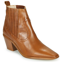 Schoenen Dames Enkellaarzen Betty London MIRTA Cognac