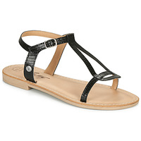 Schoenen Dames Sandalen / Open schoenen Betty London MISSINE Zwart