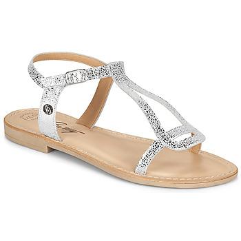 Schoenen Dames Sandalen / Open schoenen Betty London MISSINE Zilver