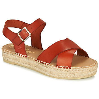 Schoenen Dames Sandalen / Open schoenen Betty London MIZOU Bruin