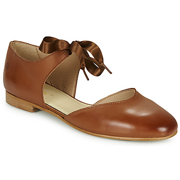 Schoenen Dames Ballerina's Betty London MARILO Camel
