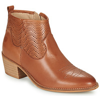 Schoenen Dames Enkellaarzen Betty London MARILENE Camel
