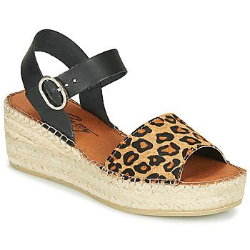 Schoenen Dames Sandalen / Open schoenen Betty London MARILUS Luipaard