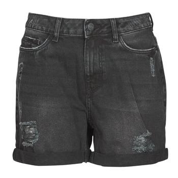 Textiel Dames Korte broeken / Bermuda's Noisy May NMSMILEY Zwart