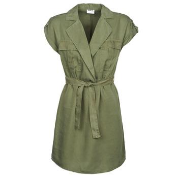 Textiel Dames Korte jurken Noisy May NMVERA Kaki