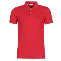 Textiel Heren Polo's korte mouwen Selected SLHARO Rood