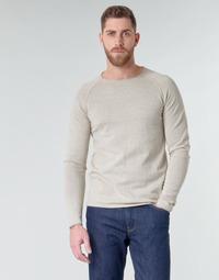 Textiel Heren Truien Jack & Jones JJEUNION Beige