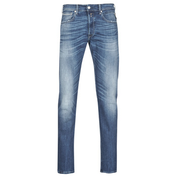 Textiel Heren Straight jeans Replay GROVER Blauw / Medium