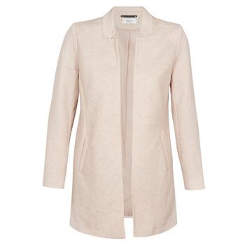 Textiel Dames Mantel jassen Only ONLSOHO Beige