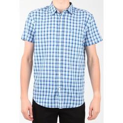 Textiel Heren Overhemden korte mouwen Wrangler S/S 1 PKT Shirt W5860LIRQ Multicolor