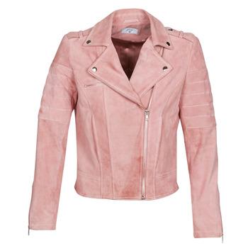Textiel Dames Leren jas / kunstleren jas Betty London MARILINE Roze