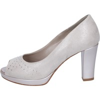 Schoenen Dames pumps Lady Soft decollete camoscio sintetico strass Beige