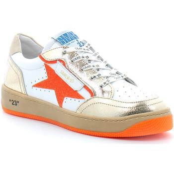 Schoenen Dames Lage sneakers Semerdjian ARTO Blanc