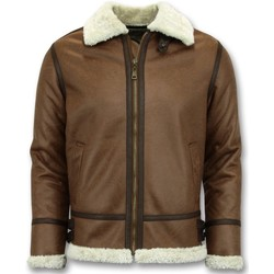 Textiel Heren Wind jackets Tony Backer Lammy Coat - Shearling Jacket - Bruin