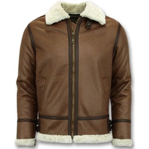 Textiel Heren Wind jackets Tony Backer Lammy Coat - Shearling Jacket - Bruin