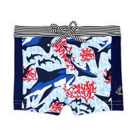 Textiel Jongens Zwembroeken/ Zwemshorts Petit Bateau FEUILLAGE Multicolour