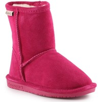 Schoenen Meisjes Snowboots Bearpaw Emma Toddler Zipper 608TZ-671 Pom Berry pink
