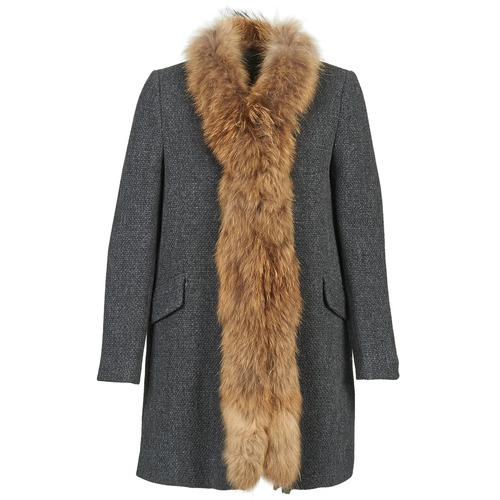 Textiel Dames Mantel jassen Stella Forest STILAN Grijs