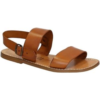 Schoenen Heren Sandalen / Open schoenen Gianluca - L'artigiano Del Cuoio 500 U CUOIO CUOIO Cuoio