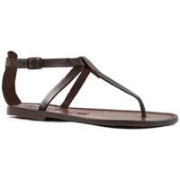 Schoenen Dames Sandalen / Open schoenen Gianluca - L'artigiano Del Cuoio 582 D MORO CUOIO Testa di Moro