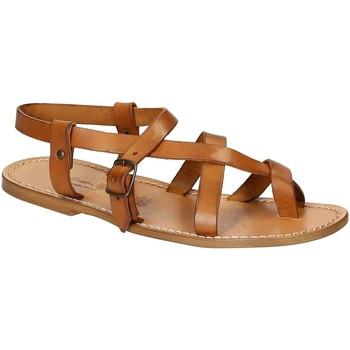 Schoenen Heren Sandalen / Open schoenen Gianluca - L'artigiano Del Cuoio 530 U CUOIO CUOIO Cuoio