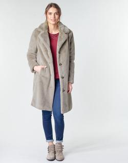 Textiel Dames Mantel jassen Oakwood CYBER Taupe