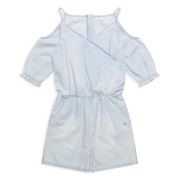 Textiel Meisjes Jumpsuites / Tuinbroeken Esprit FRANCESCO Blauw