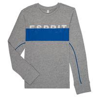 Textiel Jongens T-shirts met lange mouwen Esprit FABIOLA Grijs