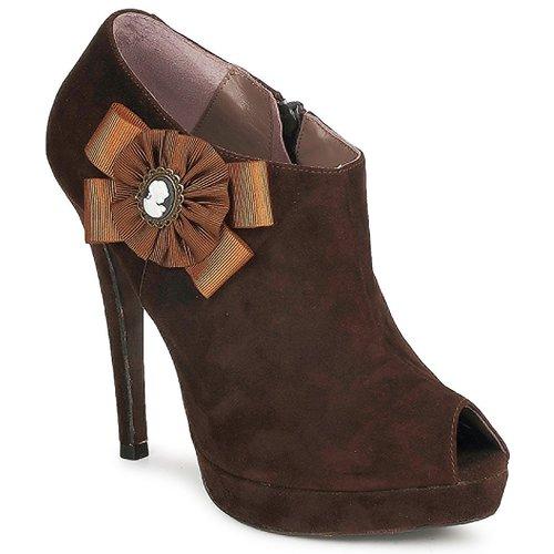 Schoenen Dames Low boots Fericelli ASSETE Bruin