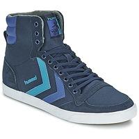 Schoenen Hoge sneakers Hummel TEN STAR WAXED CANVAS HI Blauw