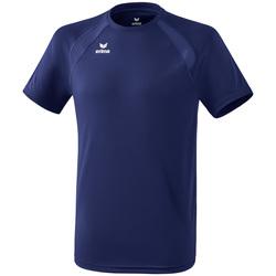 Textiel Kinderen T-shirts korte mouwen Erima T-shirt enfant  Performance bleu