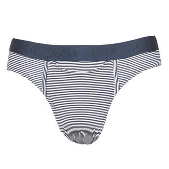 Ondergoed Heren Slips Hom SIMON MINI BRIEF Marine / Wit