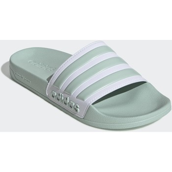 Schoenen Dames slippers adidas Originals Adilette Shower Badslippers Groen