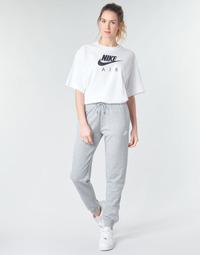 Textiel Dames Trainingsbroeken Nike W NSW ESSNTL PANT REG FLC Grijs / Wit