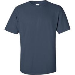 Textiel Heren T-shirts korte mouwen Gildan Ultra Blauwe schemering