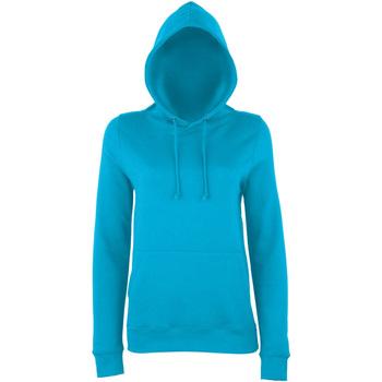 Textiel Dames Sweaters / Sweatshirts Awdis Girlie Hawaiiaans Blauw